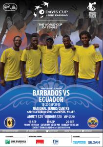 BAR Vs ECU Sept 2015 poster