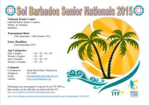 2015 Seniors flyer