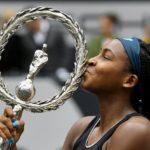 15-YEAR-OLD COCO GAUFF EARNS FIRST WTA TITLE