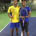 2019 Lucky Horseshoe BiiG Tennis Games WINNERS – Russell Moseley and Cherise Slocombe!