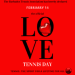 Love Tennis for Valentine's Day!