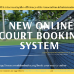 BTA's NEW Online Court Booking System – A 3-week trial starting February 17 2020
