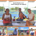 Special Thanks to our Tennis Family!