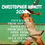 BTA Sanctioned 2020 Tournaments – Christopher Howitt 2020 : Matches Starting Soon